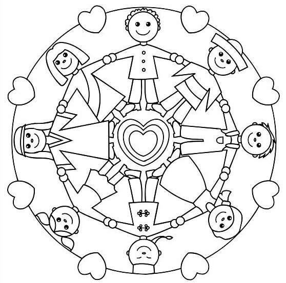 Mandala Per Bambini Creare Con Gioia E Libertà Yoga Magazine