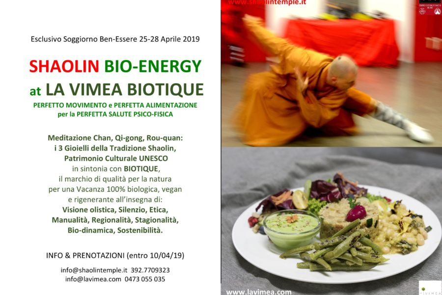 Shaolin Bio-Energy Spring Retreat