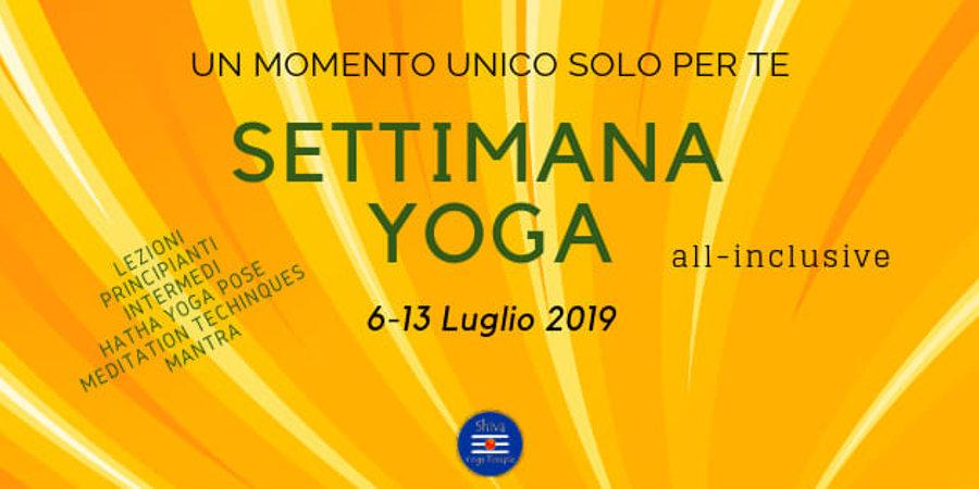 Settimana Yoga – Oasi WWF