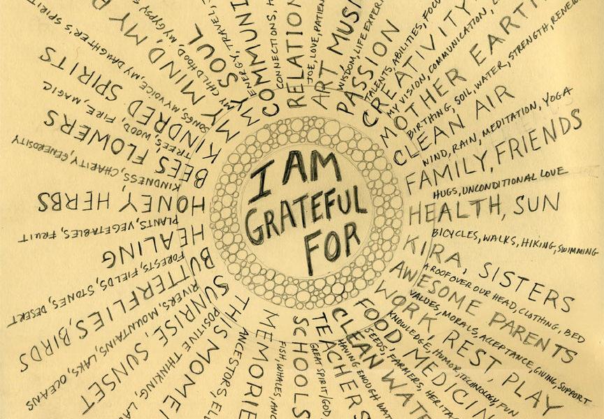 Il mandala della gratitudine