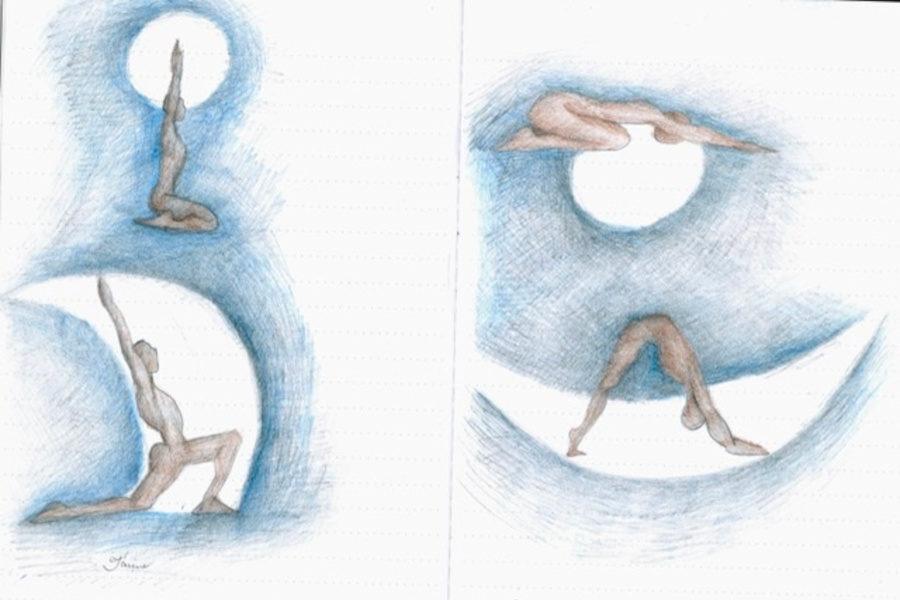 Un tappeto bianco per festeggiare lo Yoga