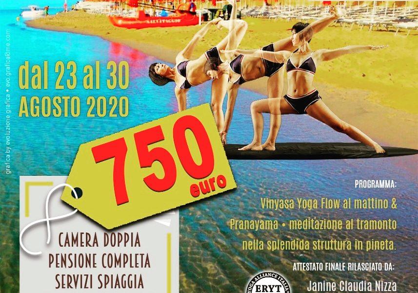 Vacanza-studio YOGA FLOW in Metaponto