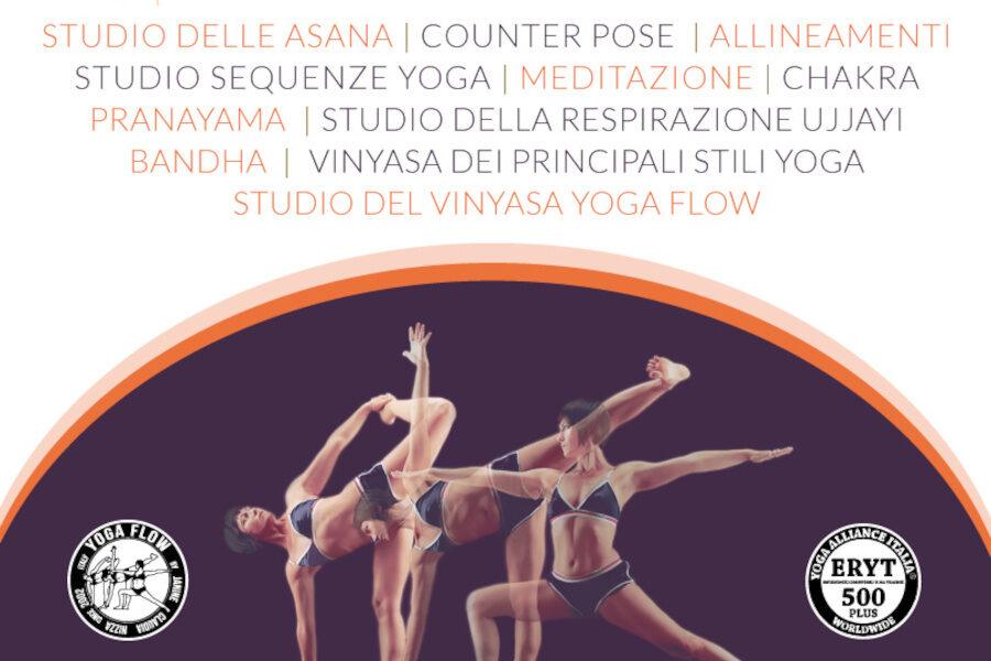 TTC Vinyasa Yoga Flow RYS 250 PLUS