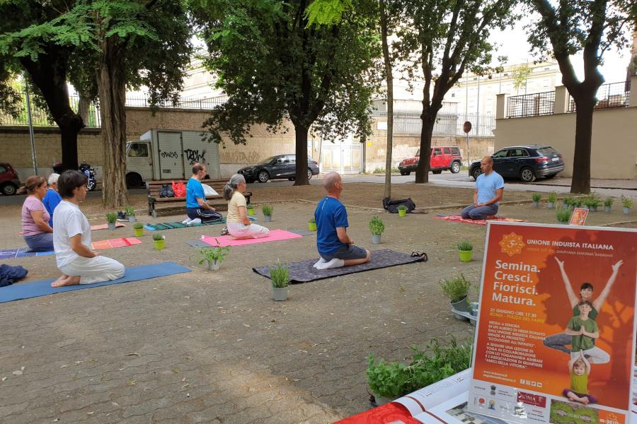 International Yoga Day a Roma