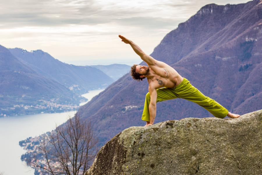 L'arrampicata: una forma di yoga!